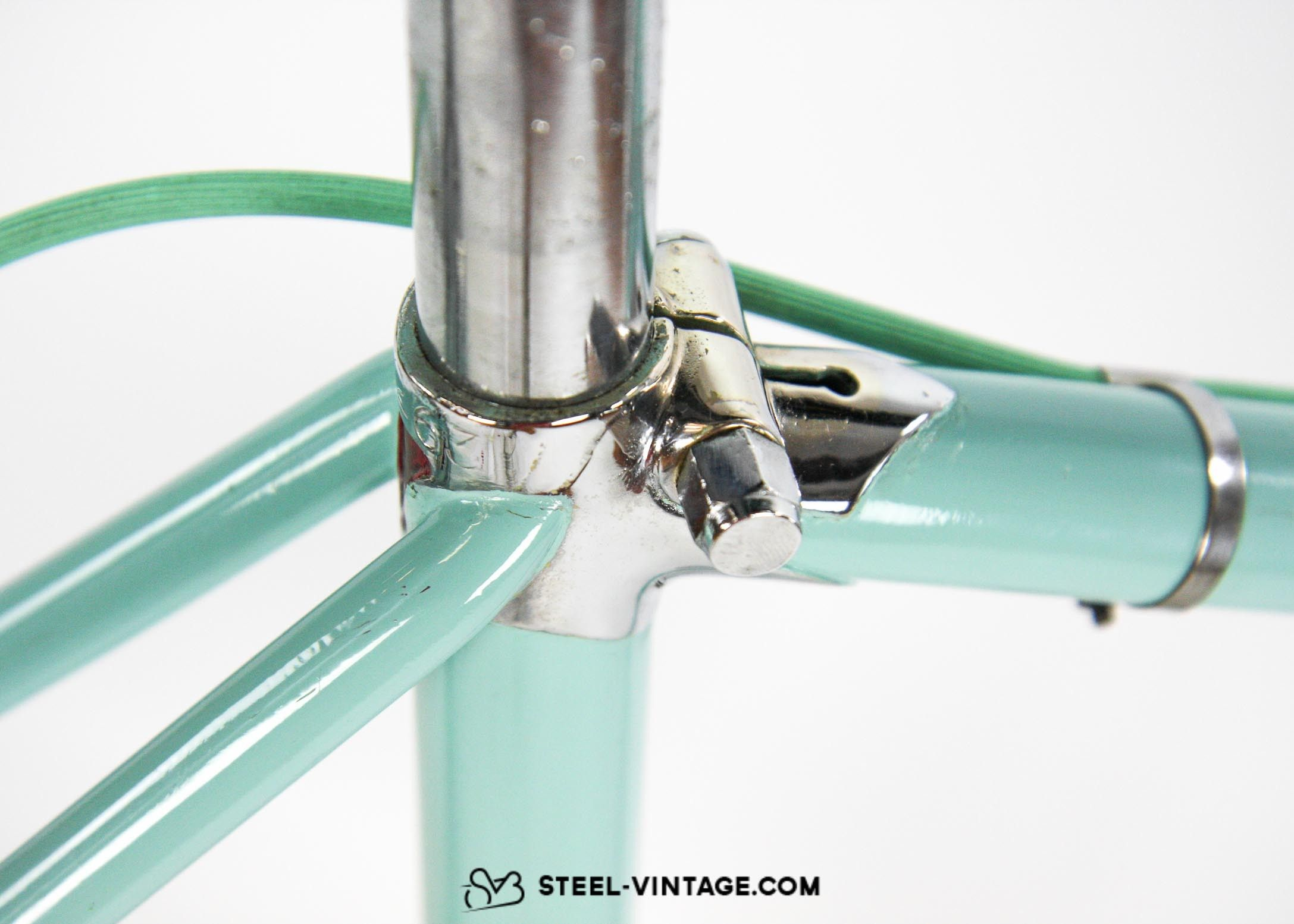 Steel Vintage Bikes Bianchi Folgore 1940s Classic Collectible Bicycle Bicicletta