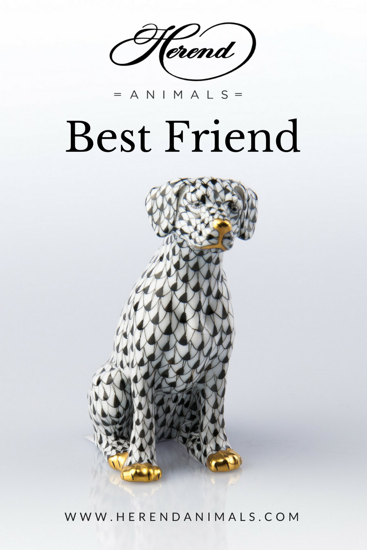 Dog - Dalmatian in 2019   Herend   Dogs, Figurines, Dalmatian dogs