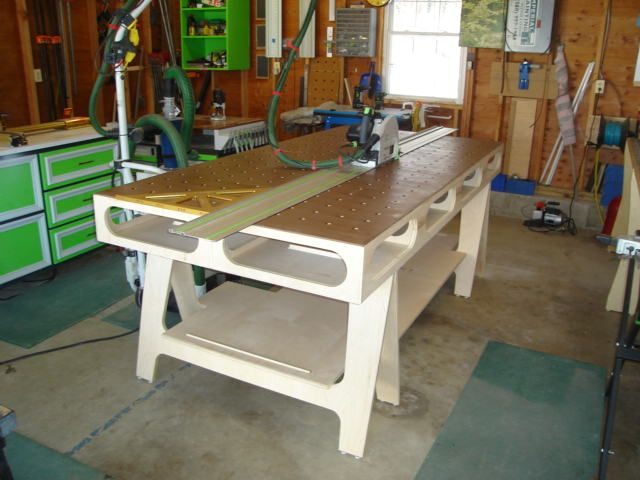 Enjoyable Ultimate Workbench Cnc Workshop Paulk Workbench Gmtry Best Dining Table And Chair Ideas Images Gmtryco