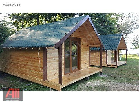 ahsap bungalov satilik prefabrik ev