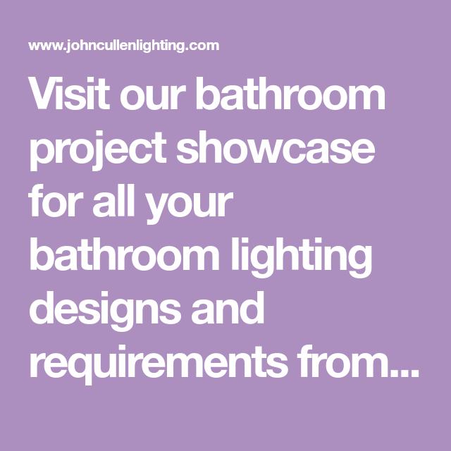 Bathroom Lighting Requirements