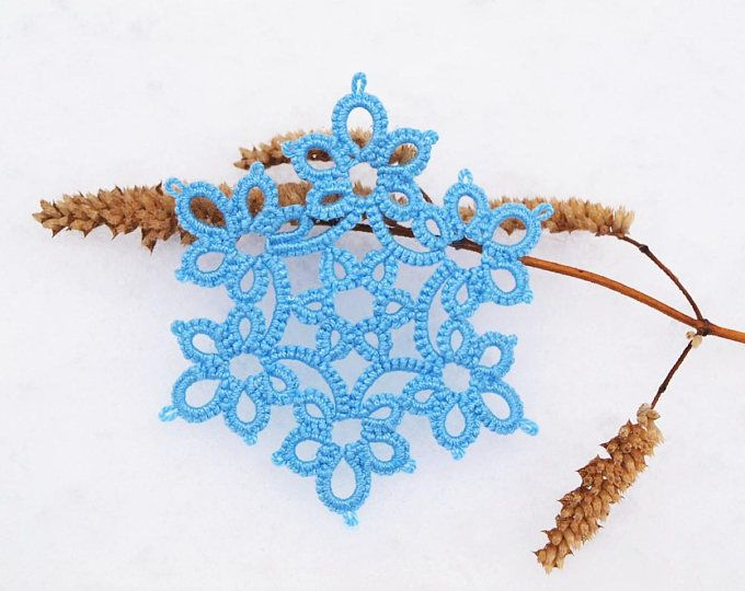Dancing Angels Pattern PDF, Grape Harvest, tatted snowflake ...