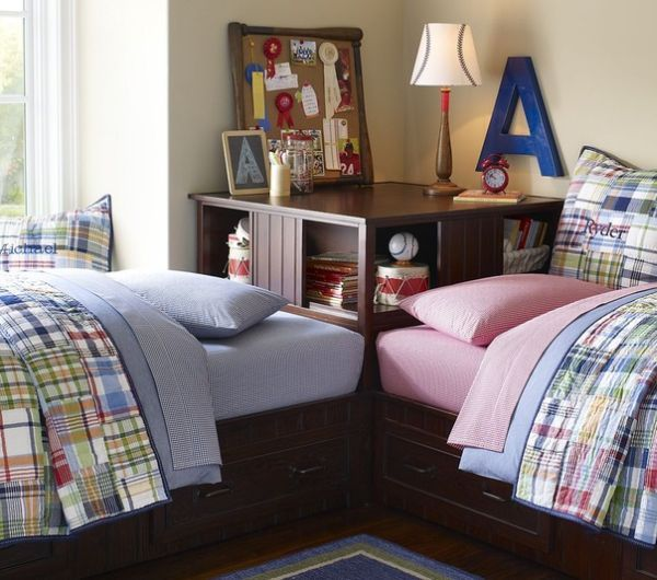 15 Idées De Chambre Pour 2 Enfants 6 Déco Maison Pinterest