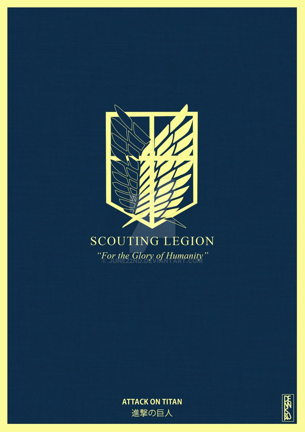 "Scouting Legion - ""For the Glory of Humanity!"""