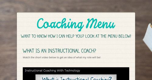 What Is An Instructional Coach Watch The Short Video Below To Get