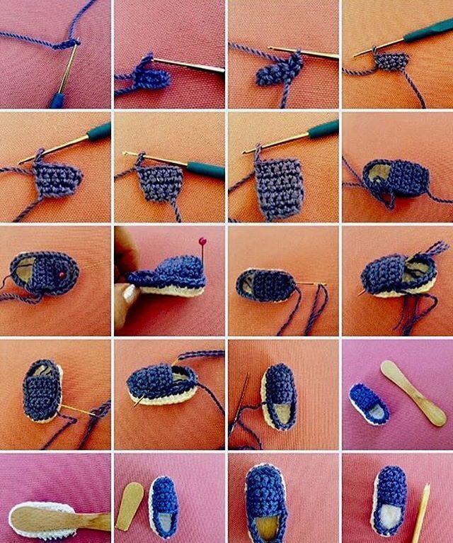 Örgü bebek ayakkabı, patik ve bot modelleri - Canım Anne   766x640