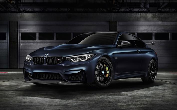 Hämta bilder BMW M4 GTS, Bilar 2018, nya M4, F82, sportcars, tyska bilar, BMW