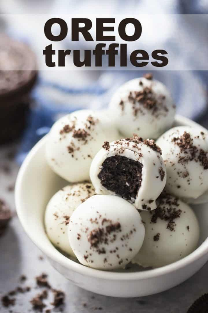 Oreo Balls Oreo Balls: easy to make and so much fun!