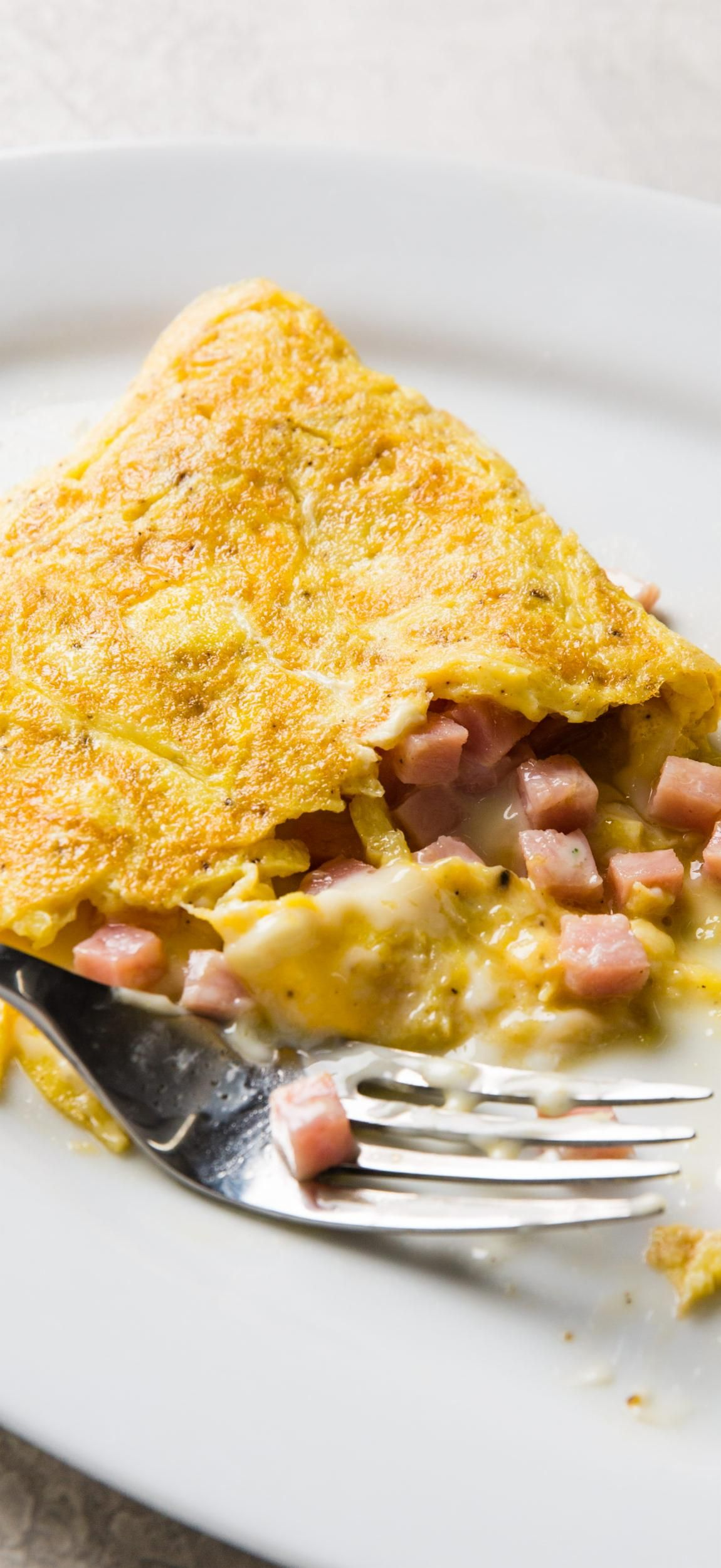 Easy ham and cheese omelet our simple nofuss method