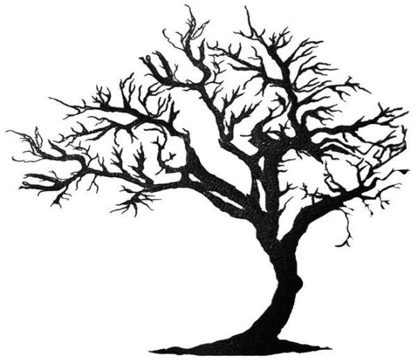 Tree Of Life Tattoo Designs Tattoos Amp Made To Order Tattoo Designs Tree Of Life Expansion Tree Silhouette Tattoo Tree Art Tree Painting