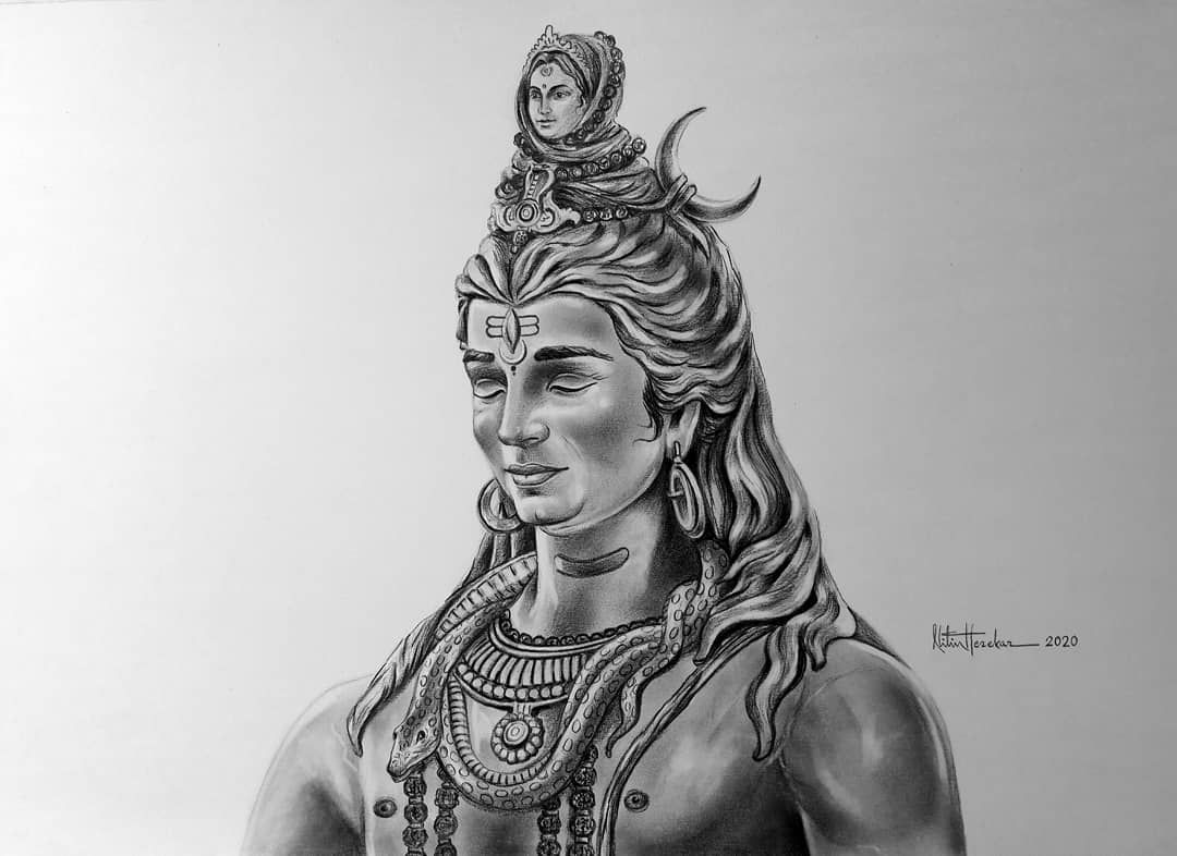 New Pencil Sketch Artwork13 20 Lordshiva Bholenath Harharmahadev Shivshankar Mahakal Jaishivshankar M Shiva Tattoo Design Black Pen Sketches Shiva Art Shiva tattoo wallpaper download