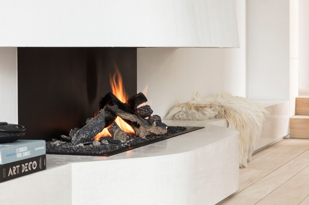 Urban Gas Open Fireplaces by Metalfire Architectural