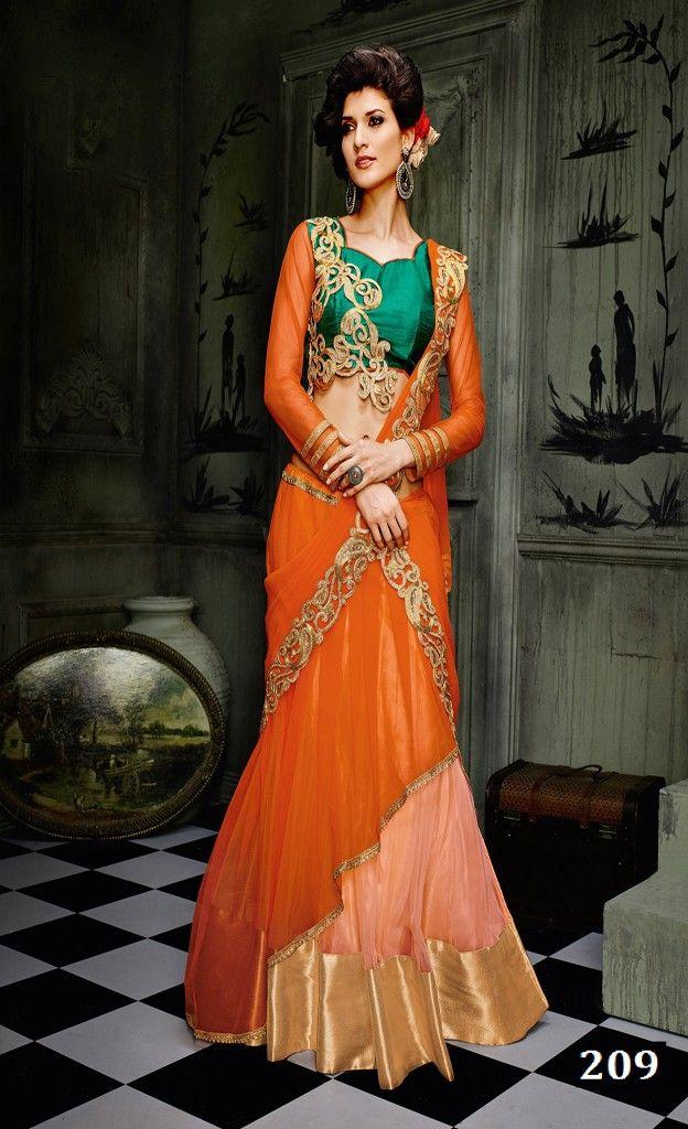 Lavanya Multicolor Net Wedding Lehanga Choli With Dupatta