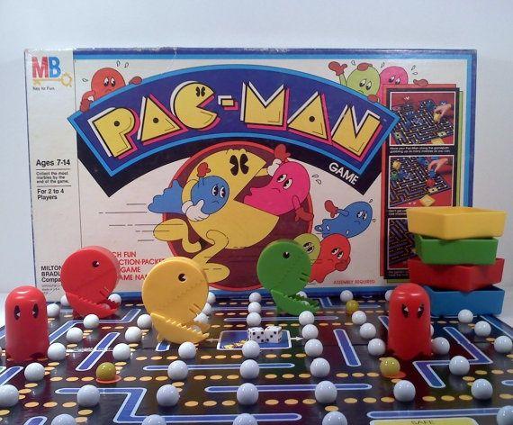 Pac-Man board game by Milton Bradley