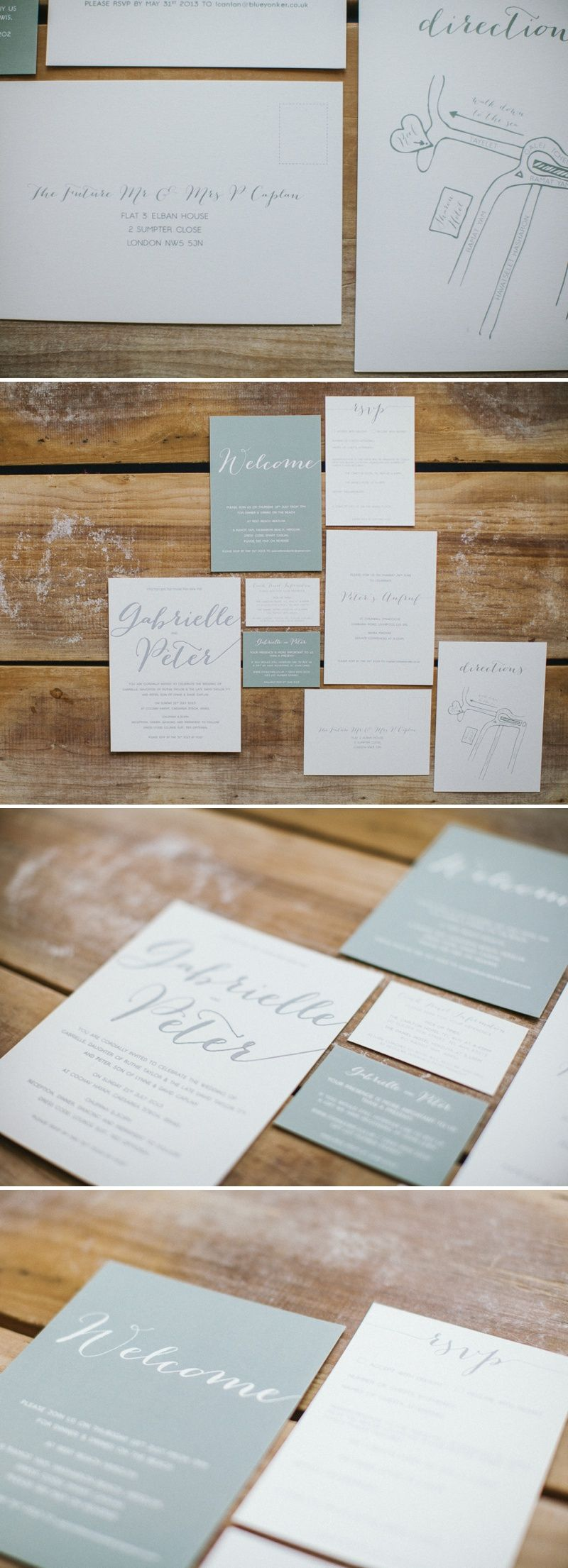 A helpful round-up of the best wedding stationery suppliers to be ...