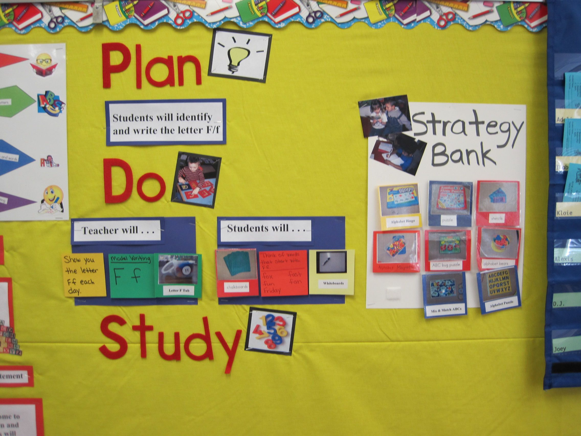 Classroom Design Strategies : Kindergarten plan do study act pdsa cycles using