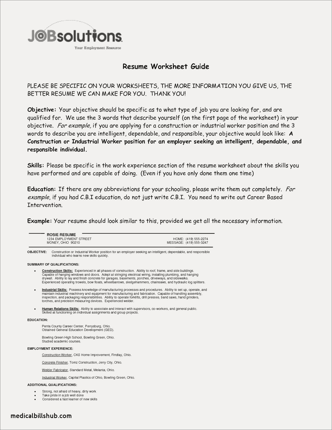 72 Cool Photos Of Example Of Resume About Yourself (With