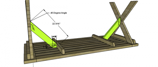 Or Any Other Area Around Your Home Where You Need Seating Or Just - Picnic table leg angle