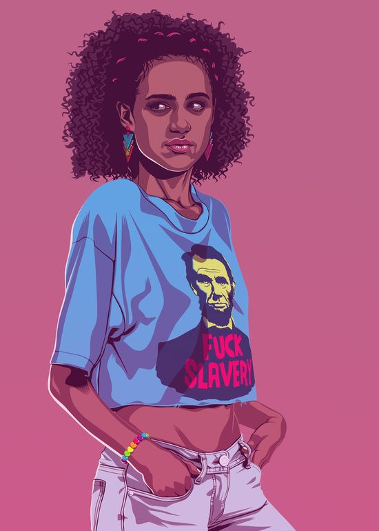 80/90s GAME OF THRONES - Missandei by Mike Wrobel