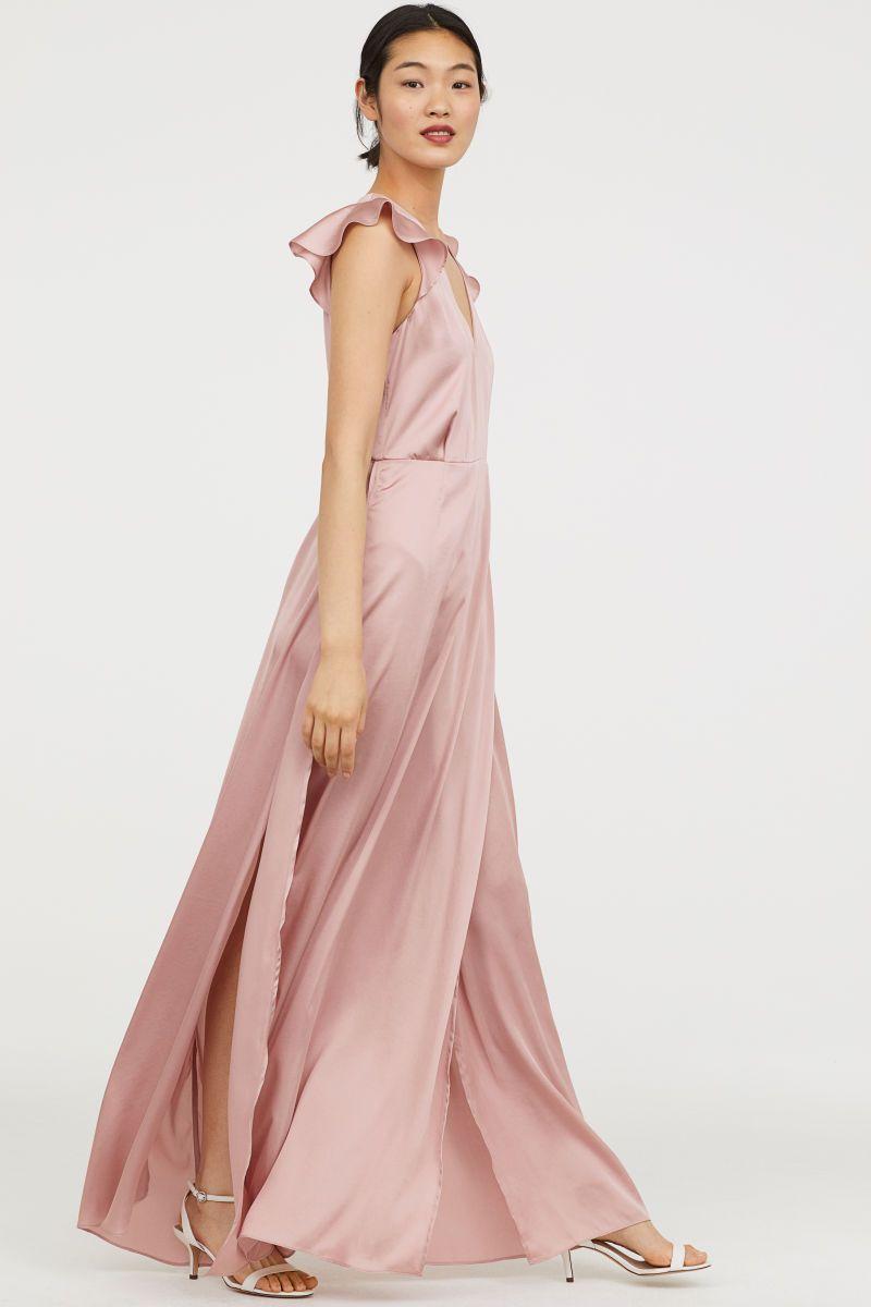 ca85748b119c Satin Maxi Dress