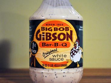 Big Bob Gibson Bar-B-Q White Sauce | Southern Comfort, Y ...