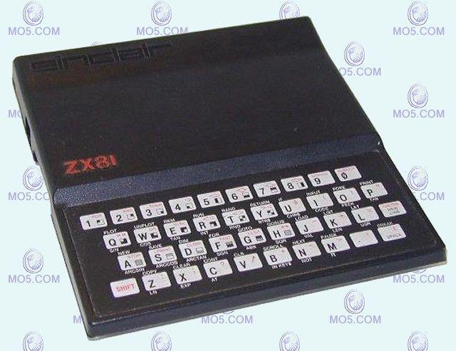 Le Sinclair ZX81