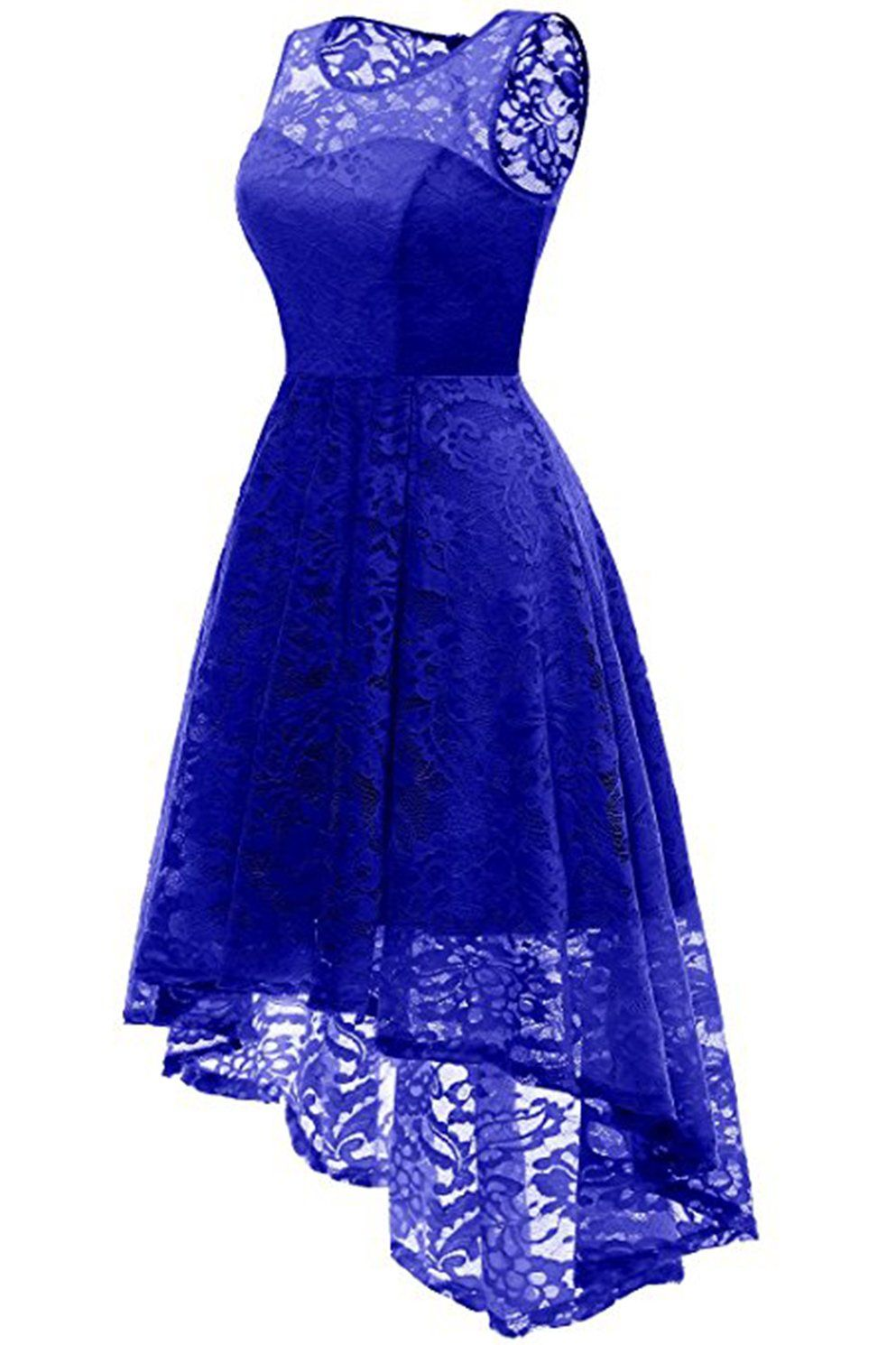 Aa chicloth women floral lace bridesmaid party dress short prom