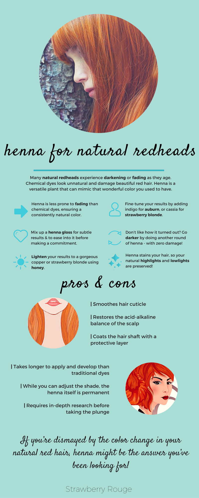 Why henna is a fantastic choice for natural redheads natural