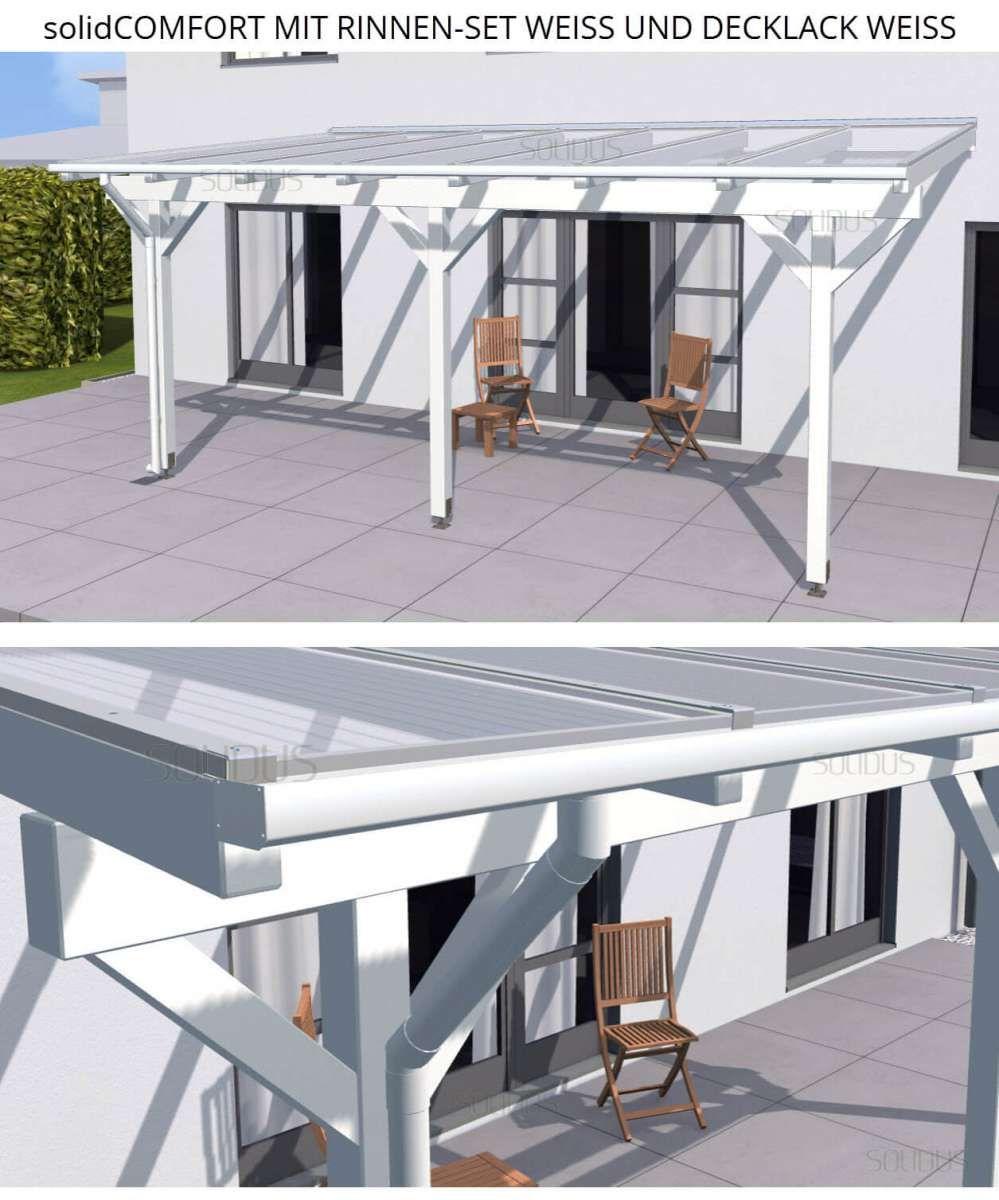 Komplett Bausatz Einer Leimbinderholz Terrassenuberdachung Inklusive Bedachung Montagematerial Aufbau Terrassenuberdachung Uberdachungen Uberdachung Terrasse