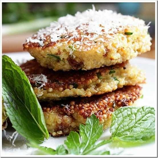 herb quinoa patties