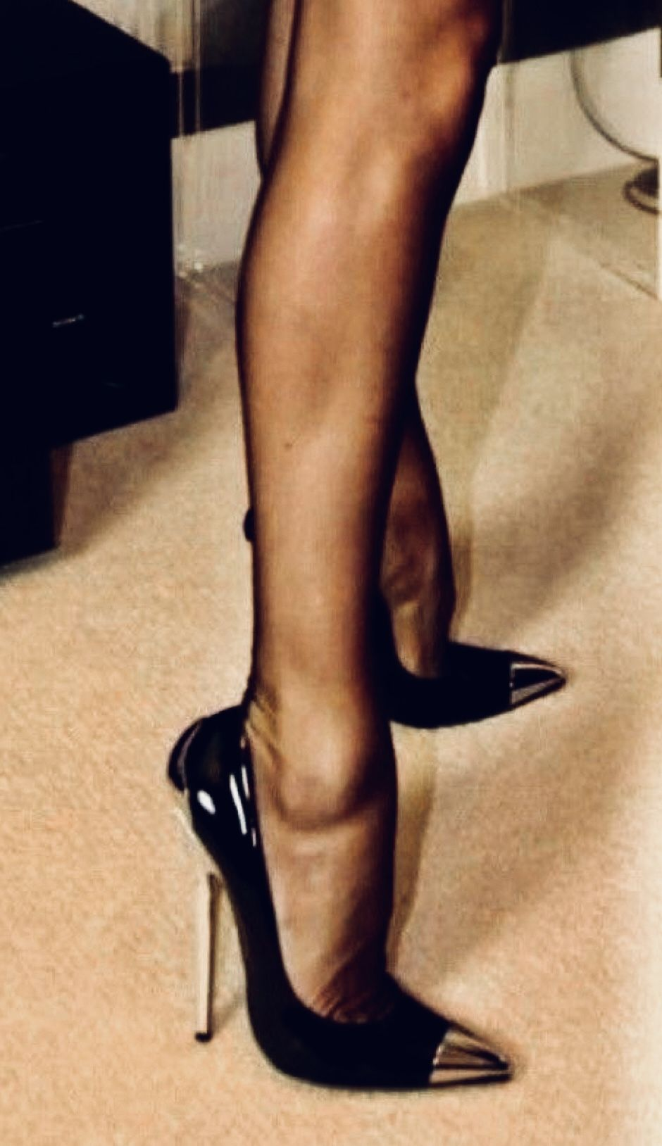 Pin by Roslyn on Hot all the time | Heels, Stiletto heels