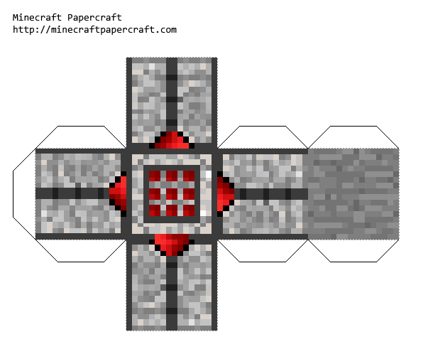 Minecraft laser mod printable   papercraft, printables & printable ...