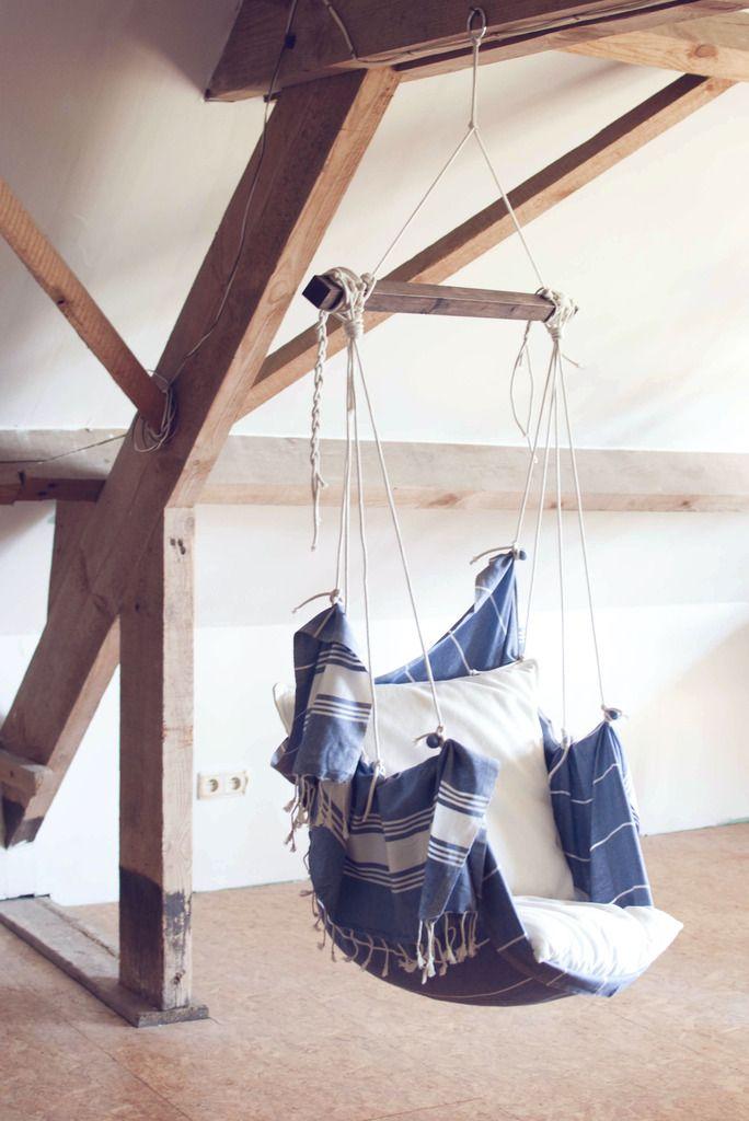diy hanging chair hammock hangstoel zelf maken   huisinrichting ...