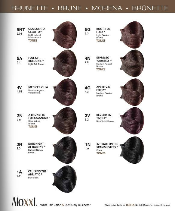Consumer Swatchbook Hair Color Chart Hair Inspiration Color Hair Color