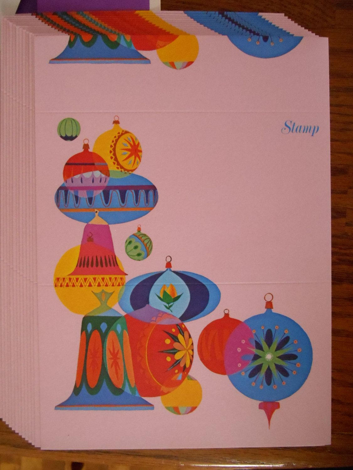 Current Christmas Just a Notes Stationery, 1970, Christmas ...