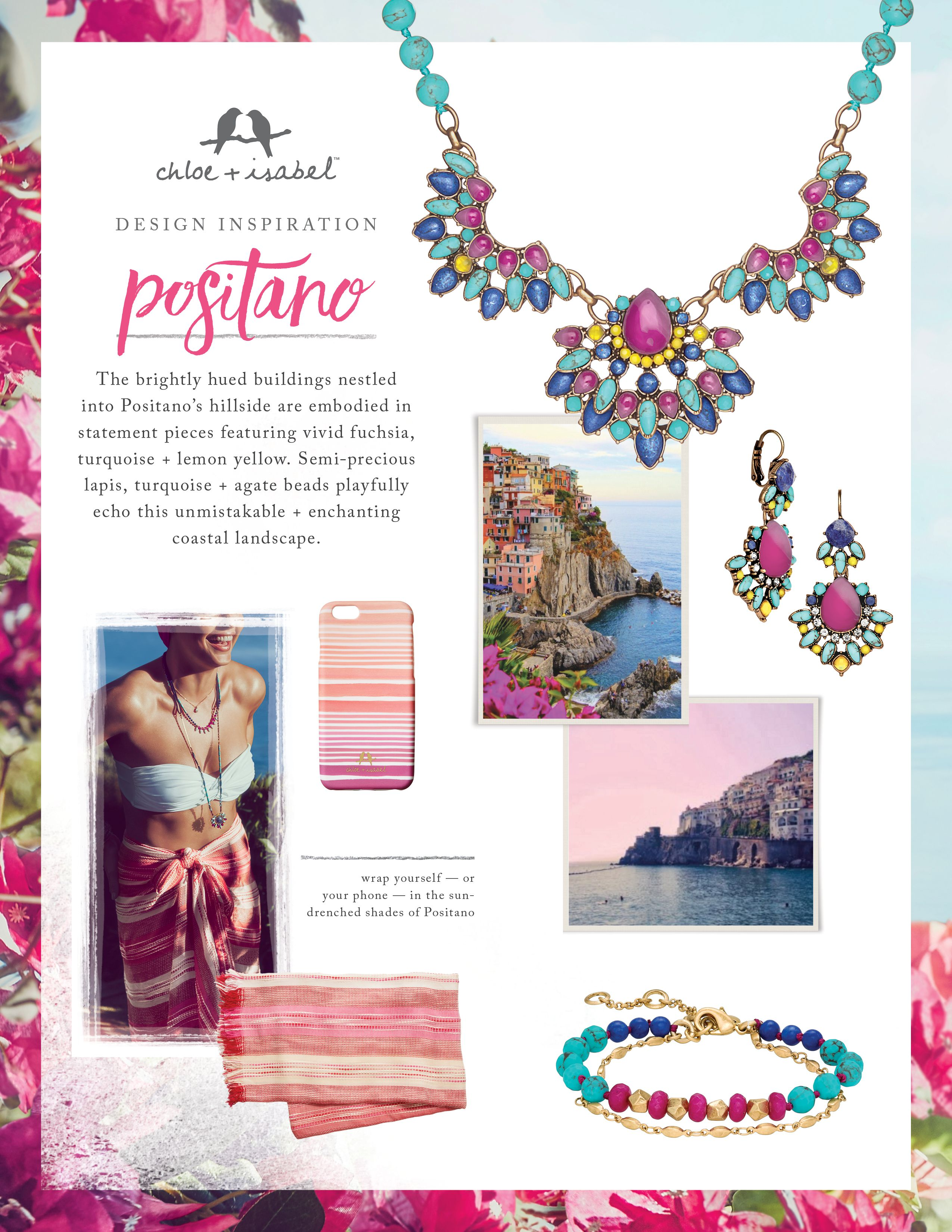 d4a09e2a4283 Discover the inspiration behind our Positano mini-collection, including  brand-new product categories!