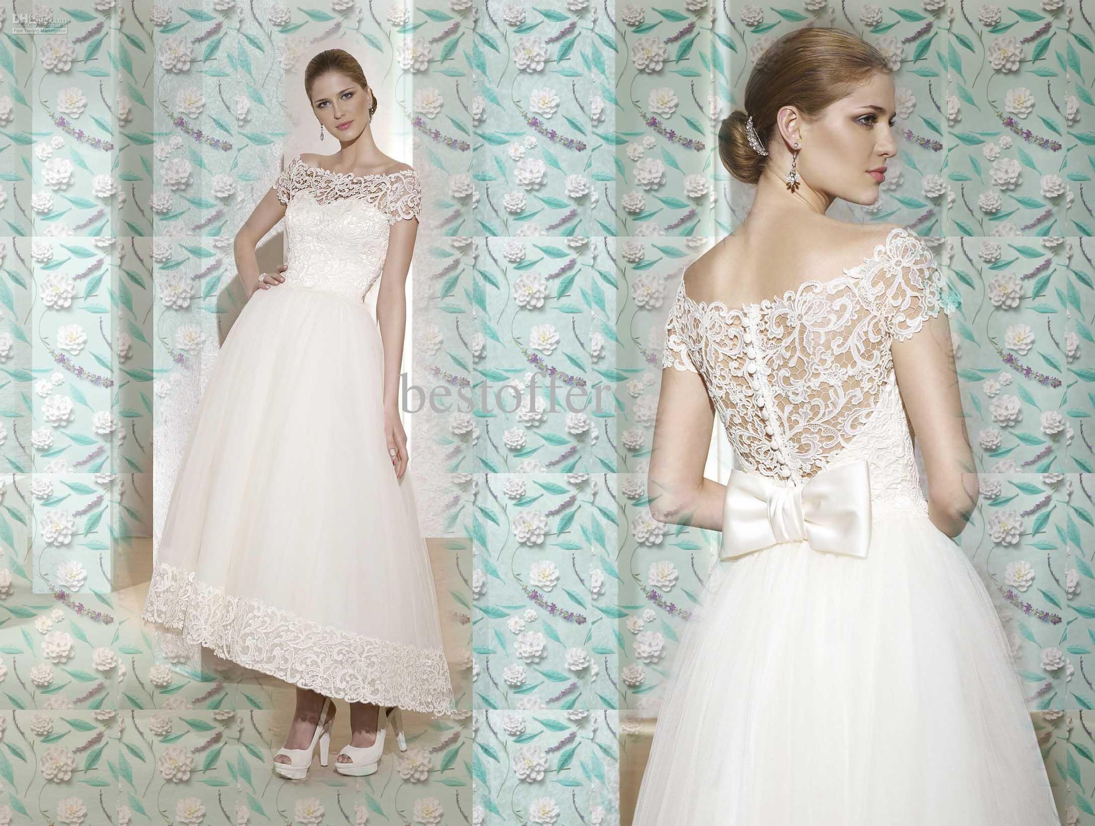 Wholesale Wedding Dresses - Buy Wedding Gown Off Shoulder Stack Up ...