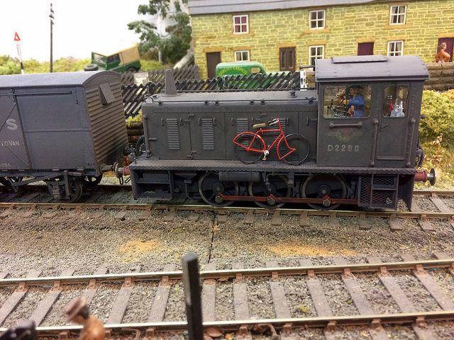 0 Gauge Br Class 04 Shunter Model Train Scenery Model Trains Model Railway