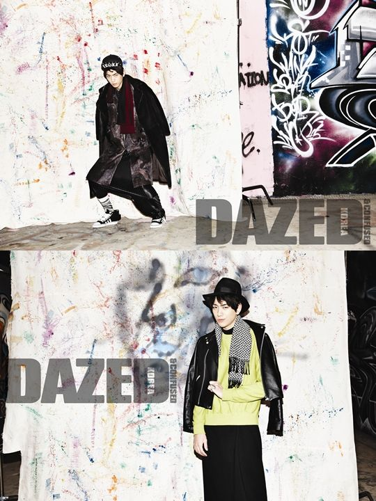 Sung Joon - Dazed and Confused Magazine February Issue '13