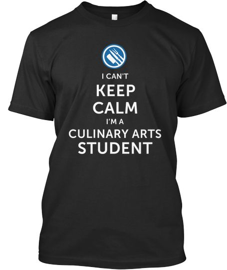 f49447161 Culinary Arts Student shirt. I want. Teacher shirt. | Art of Baking ...