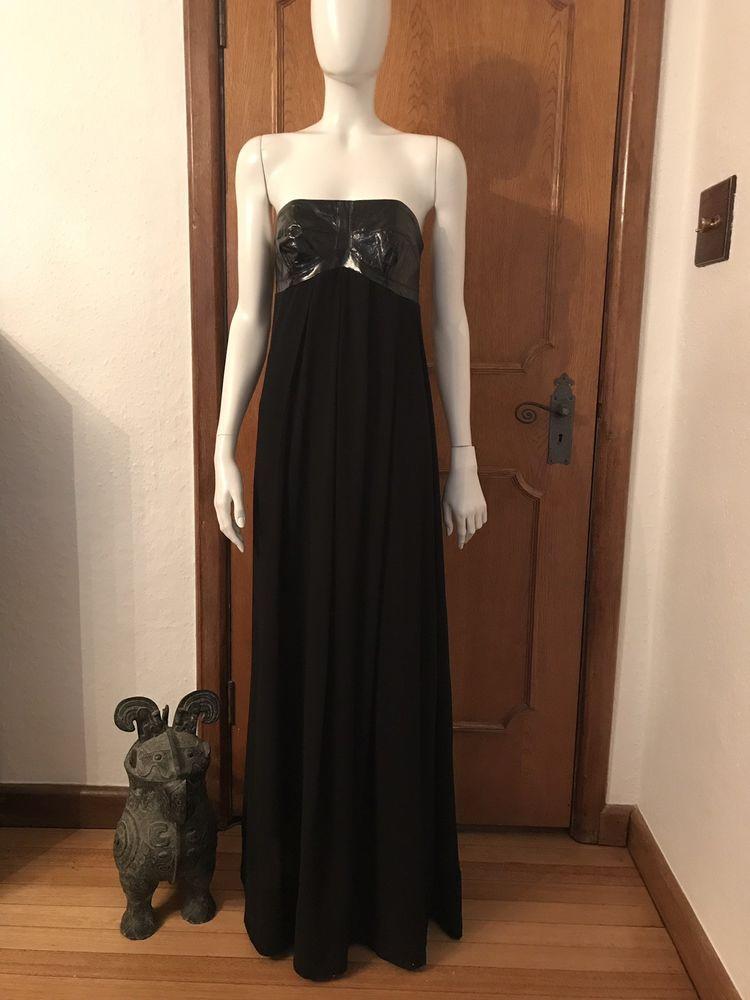 b1a679f2656 Pinko Evening Party Dress Gown Black Maxi Silk Chiffon PVC Corset Size 12  Uk #fashion #clothing #shoes #accessories #womensclothing #dresses (ebay  link)