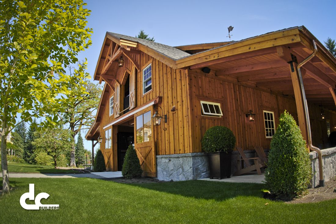 Pole Buildings With Living Quarters | DC Builders Has The Experience With  Post And Beam Building