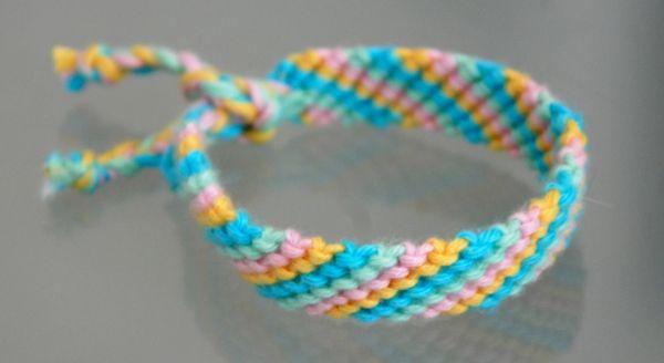 Diy make a friendship bracelet