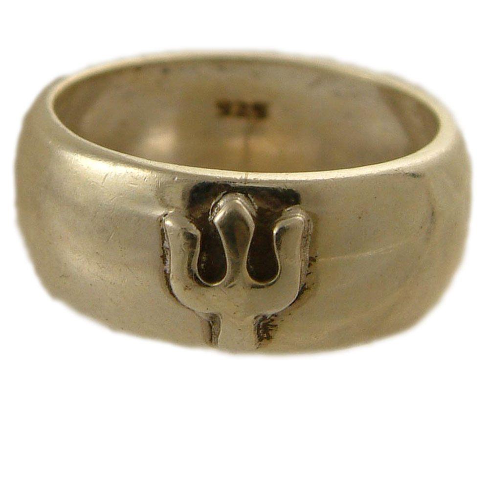 Shiva Trident Ring