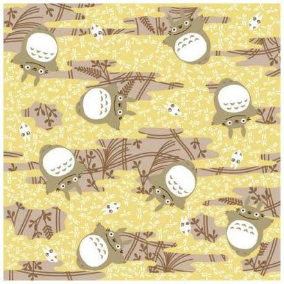 Totoro themed origami paper~ ^^