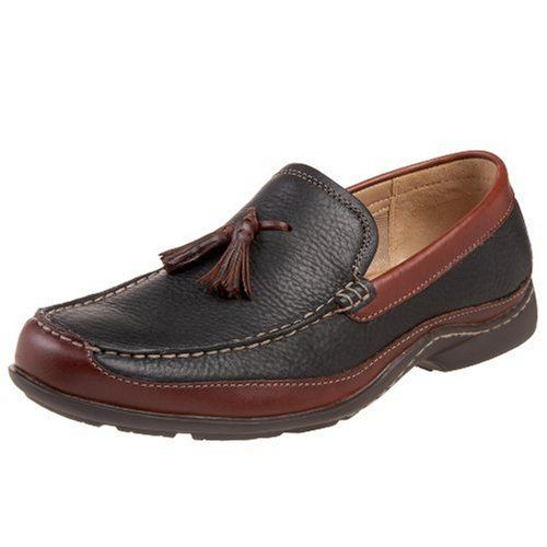 Hush Puppies Men S Radius Loafer Black Brown Leather 11 Xw Us Dress Shoes Men Loafers Loafers Men