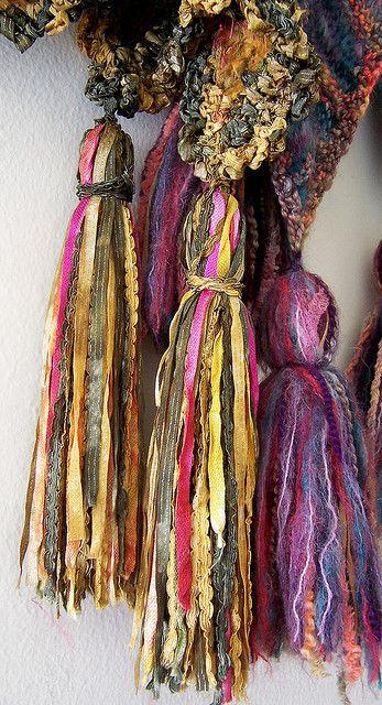 Decor Tassels Sazzy Via Flickr Recycling Reuse Diy Craft Ideas Dos Pinterest