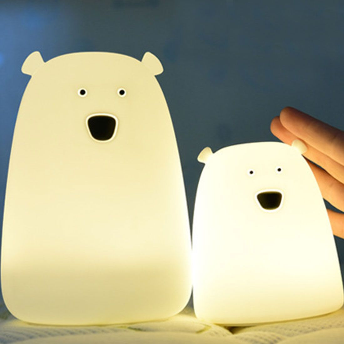 Cheap Led Night Lights Buy Directly From China Suppliers Children Baby Bedroom Night Lamp Cute Bear Silicone Le Night Light Led Night Light Color Changing Led