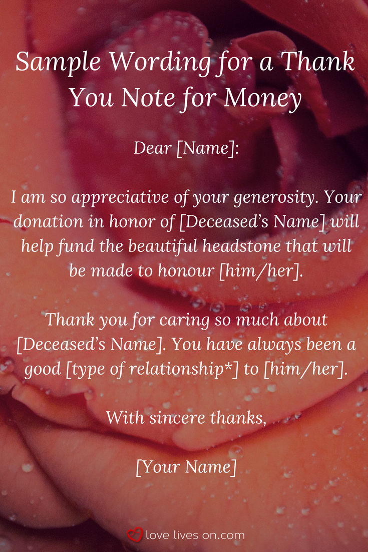 33 best funeral thank you cards babby pinterest bereavement sample wording for a funeral thank you note for a money donation click for more sample wordings for funeral thank you notes for flowers food money izmirmasajfo