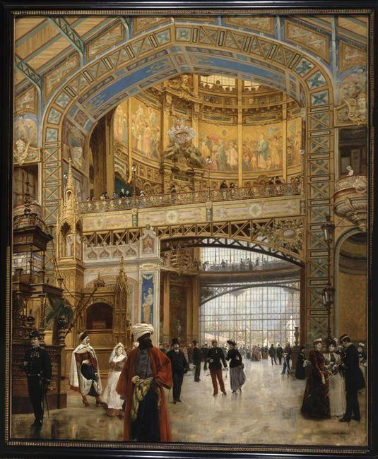 Louis Beroud | Le dôme central à l'exposition universelle de 1889 | Images d'Art